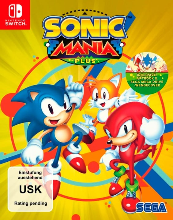 Switch - Sonic Mania Plus (D) Box 785300135229 N. figura 1