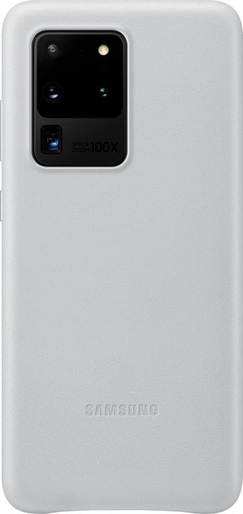 Leather Cover light grey Hülle Samsung 785300151213 Bild Nr. 1