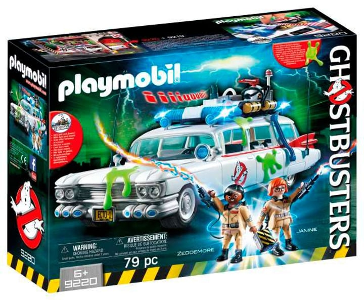 Playmobil Ghostbusters Ecto-1 Ghostbusters 9220 746079700000 Photo no. 1