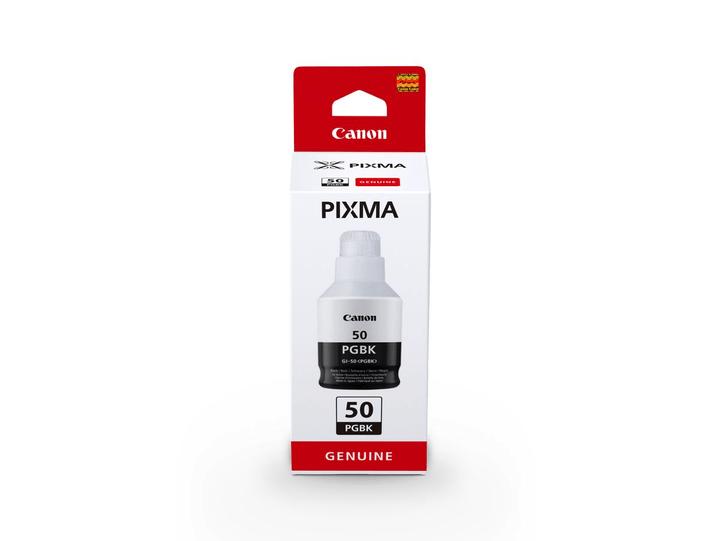 GI-50PGBK Tintenbehälter schwarz Tintenpatrone Nachfüller Canon 785300145655 Bild Nr. 1