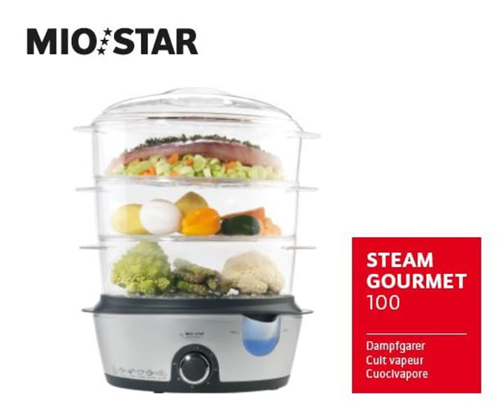 Steam Gourmet 100 Cuit vapeur Mio Star 717435000000 Photo no. 1