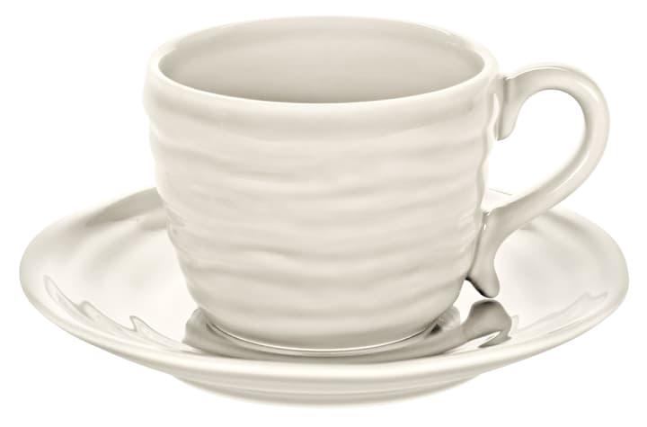 CRAFT Kaffeetasse inkl. Untertasse 440244500111 Farbe Weiss Grösse H: 6.3 cm Bild Nr. 1