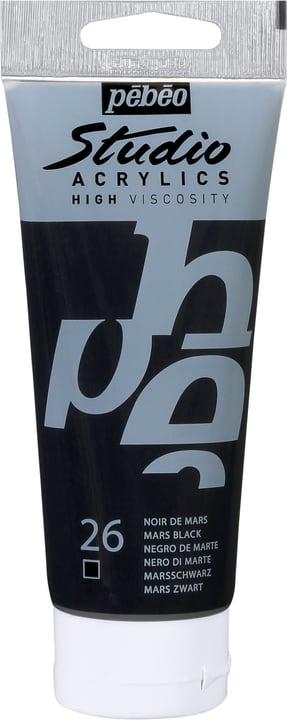 Pébéo Studio Acrylic Pebeo 663509831026 Colore Nero di Marte N. figura 1