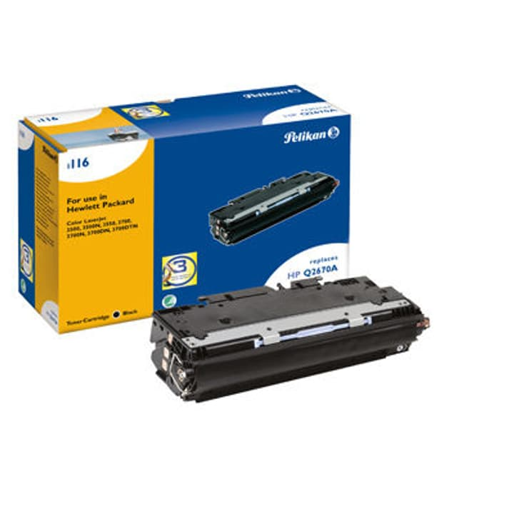 Toner-Modul Q2670A schwarz Pelikan 797580400000 Bild Nr. 1