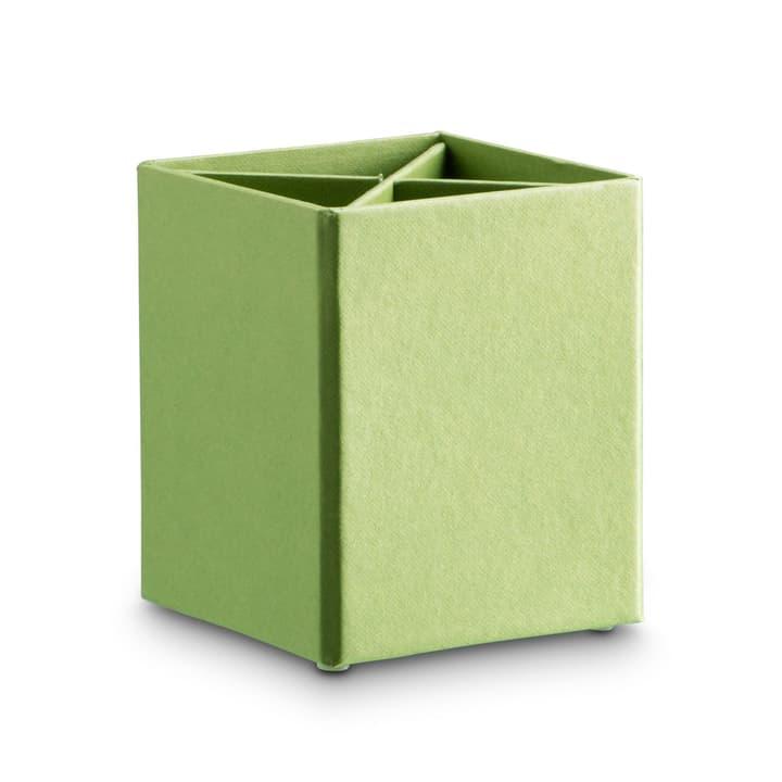 BIGSO CLASSIC Stifteköcher 386061800000 Grösse B: 11.5 cm x T: 11.5 cm x H: 10.0 cm Farbe Grün Bild Nr. 1