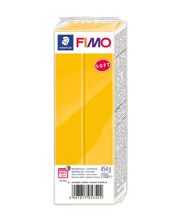 FIMO soft grande blocco, girasole Fimo 666930800000 N. figura 1
