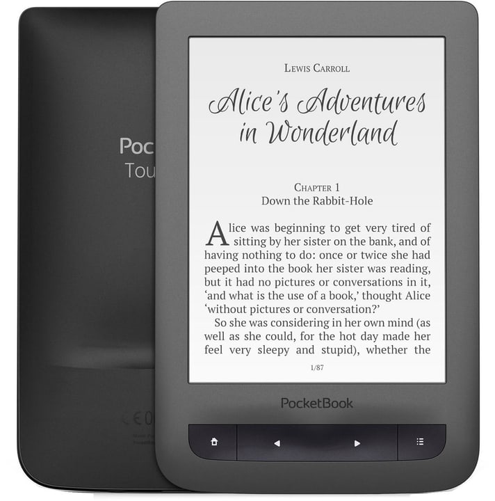 Touch Lux 3 dunkelgrau eBook-Reader Pocketbook 785300124662