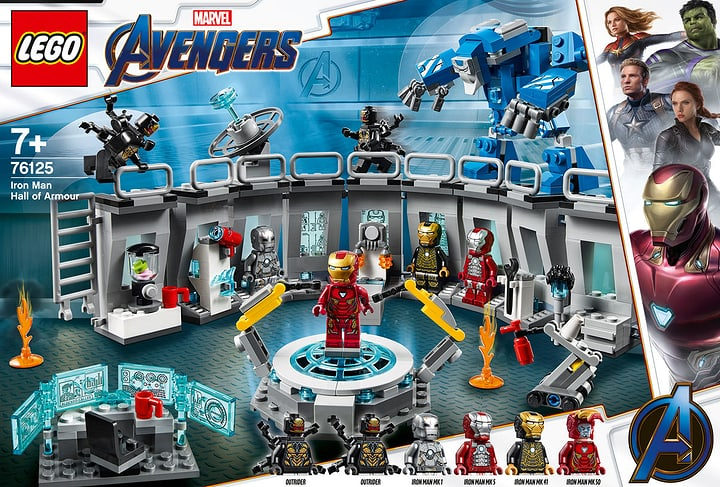 LEGO 76125 Marvel Super Hero 748714300000 Photo no. 1