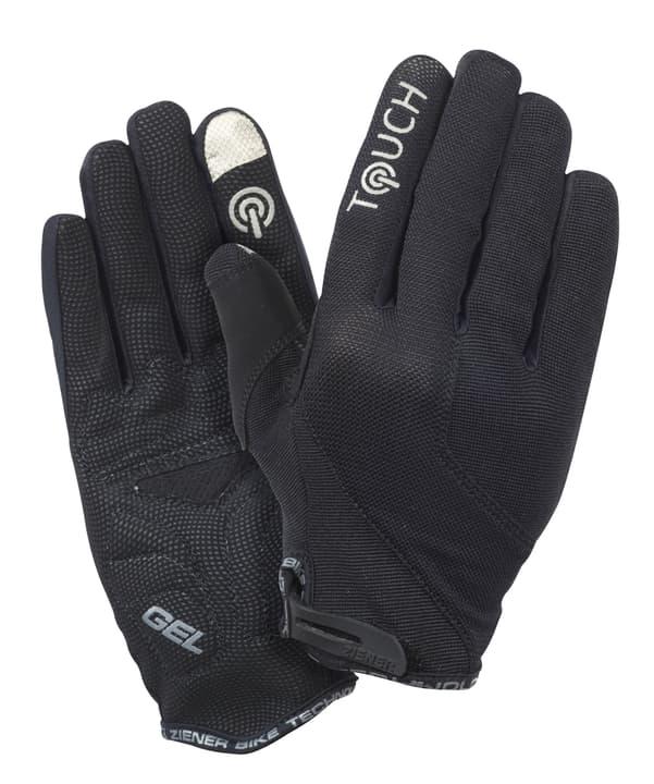 Clippo Touch Lang Gants de V.T.T. unisexe Ziener 494087007020 Couleur noir Taille 7 Photo no. 1