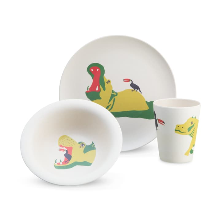 ELLIOT Set de vaisselles 370000400060 Couleur Jaune Photo no. 1