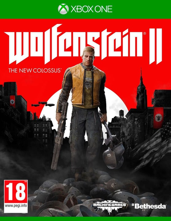 Xbox One - Wolfenstein II: The New Colossus Fisico (Box) 785300129116 N. figura 1