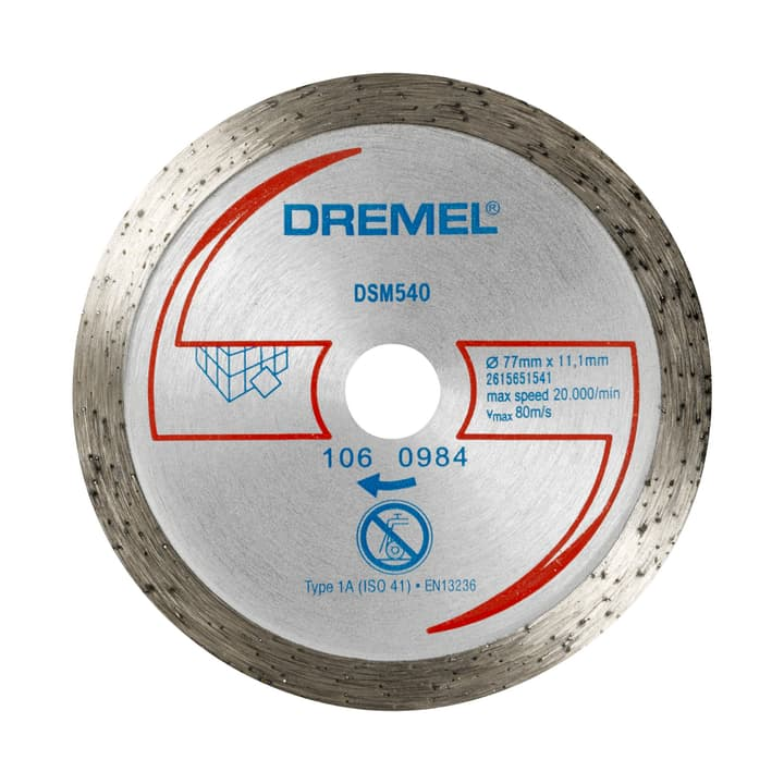 Disque à tronçonner diamanté DSM540 Dremel 616087400000 Photo no. 1