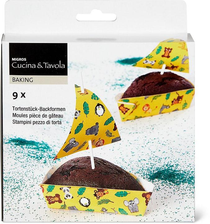 Tortenstück-Backformen, 9 Stück Cucina & Tavola 705029900000 Bild Nr. 1
