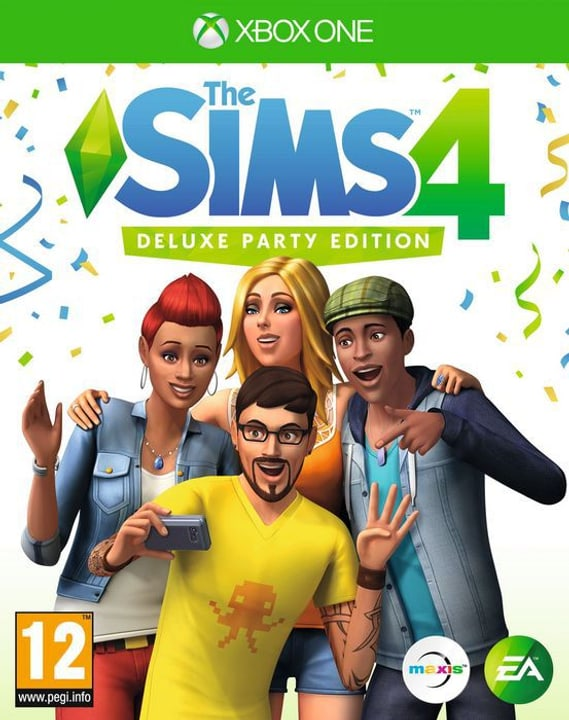 Xbox One - The Sims 4 - Deluxe Party Edition 785300130423 Photo no. 1