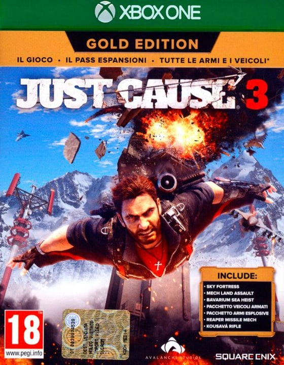 Xbox One - Just Cause 3 Gold Edition Physique (Box) 785300122061 Photo no. 1