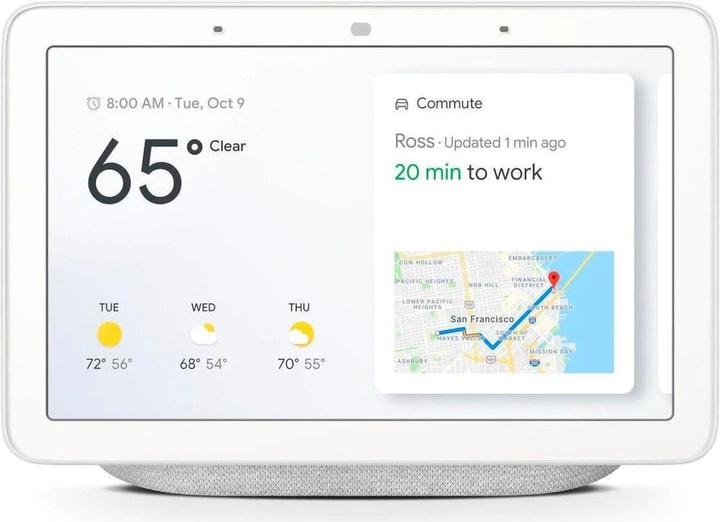 Nest Hub Rock - Chalk Smart Speaker Google 785300152870 Photo no. 1