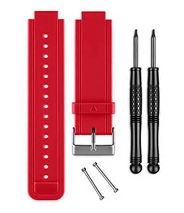 Vivoactive Bracelet de silicon rouge Garmin 785300125467 Photo no. 1