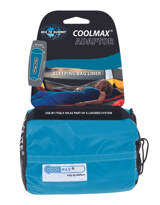 Coolmax Liner Sac de couchage intérieur Sea To Summit 470665400000 Photo no. 1