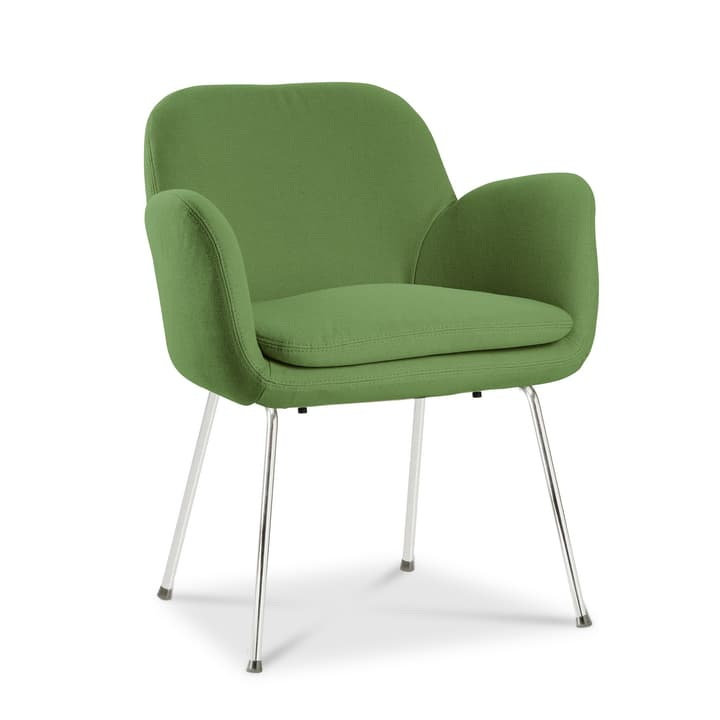 LONZO Chaise 366023686209 Dimensions L: 63.0 cm x P: 64.0 cm x H: 78.0 cm Couleur Vert Photo no. 1