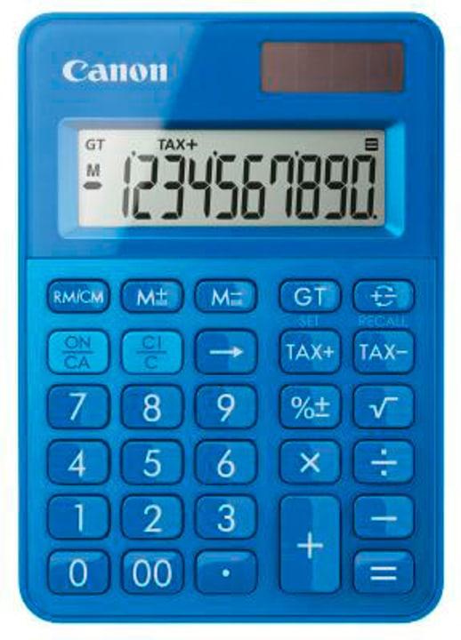 Calculatrice LS-100K bleu CALS100KM 10-chiffres, Metallic-Finish Calculatrice Canon 785300151418 Photo no. 1