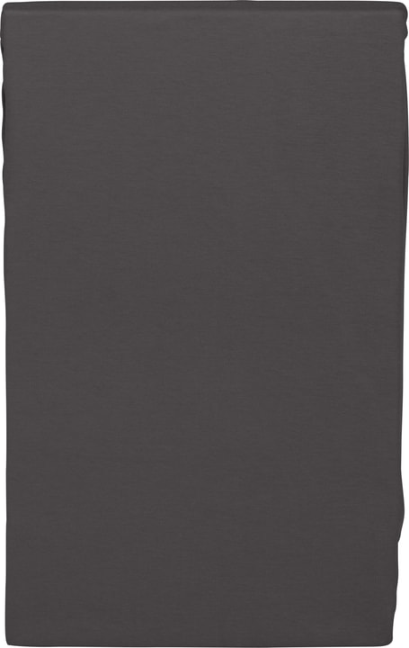 PENELOPE Drap-housse en satin 451048531083 Couleur Anthracite Dimensions L: 90.0 cm x H: 200.0 cm Photo no. 1