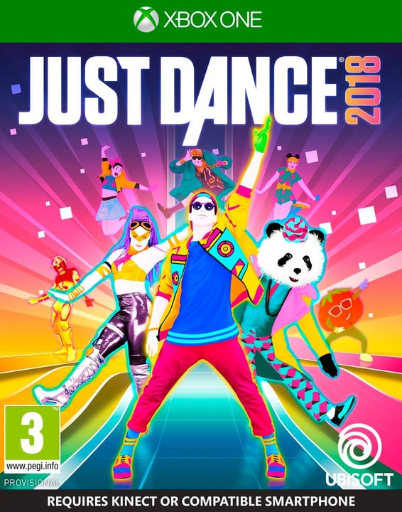 Xbox One - Just Dance 2018 Fisico (Box) 785300128748 N. figura 1