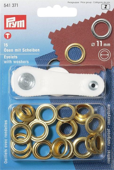 Occhielli con rondelle Prym 607018100000 N. figura 1