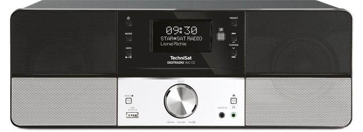 DigitRadio 360 CD - Noir Chaînes HiFi compactes Technisat 785300134715 Photo no. 1