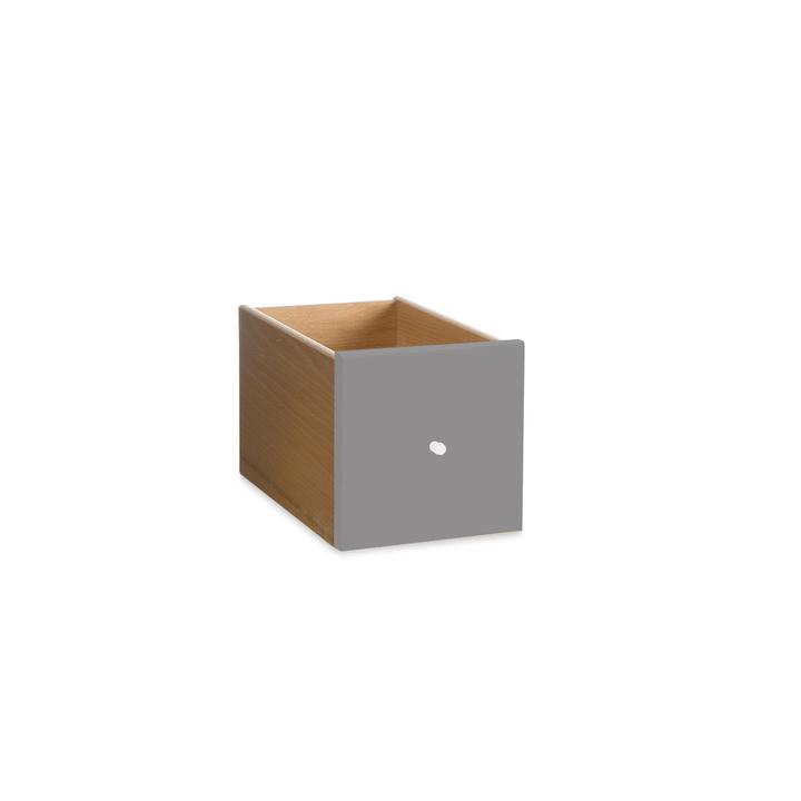 VIDO Schublade mini 362011275311 Grösse B: 18.0 cm x T: 18.0 cm x H: 33.0 cm Farbe Taupe Bild Nr. 1