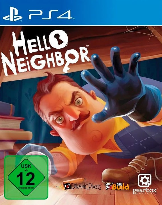 PS4 - Hello Neighbor (D) Fisico (Box) 785300136792 N. figura 1