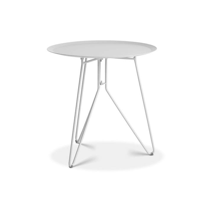 EMMA Table d'appoint Ø 40cm 362088400000 Dimensions H: 40.0 cm Couleur Blanc Photo no. 1
