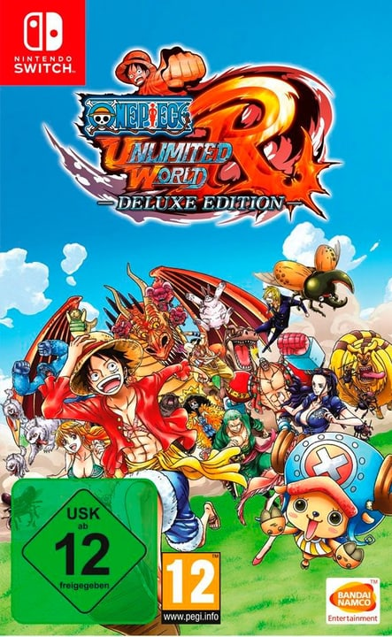 Switch - One Piece: Ultimate World Red - Deluxe Editon Physisch (Box) 785300129100 Bild Nr. 1