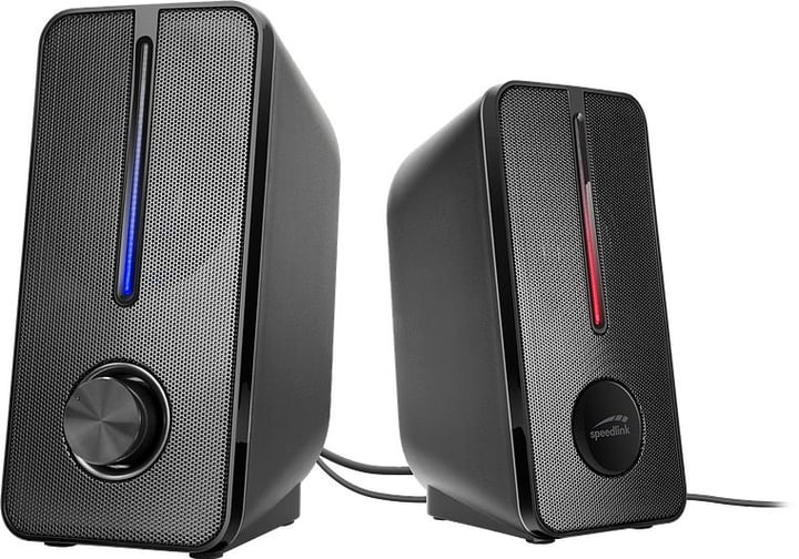 Badour Stereo Speaker Altoparlanti per PC Speedlink 785300149685 N. figura 1