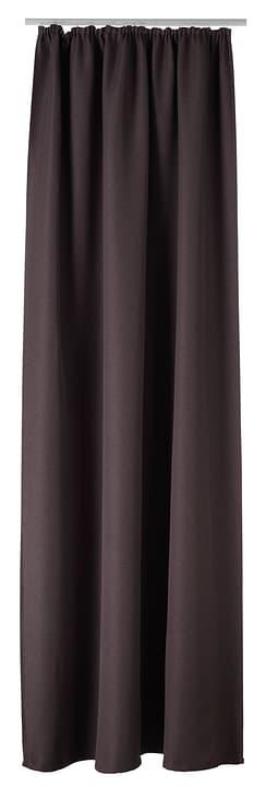 VALENTINE Fertigvorhang lichtdicht 430263221370 Farbe Braun Grösse B: 140.0 cm x H: 260.0 cm Bild Nr. 1