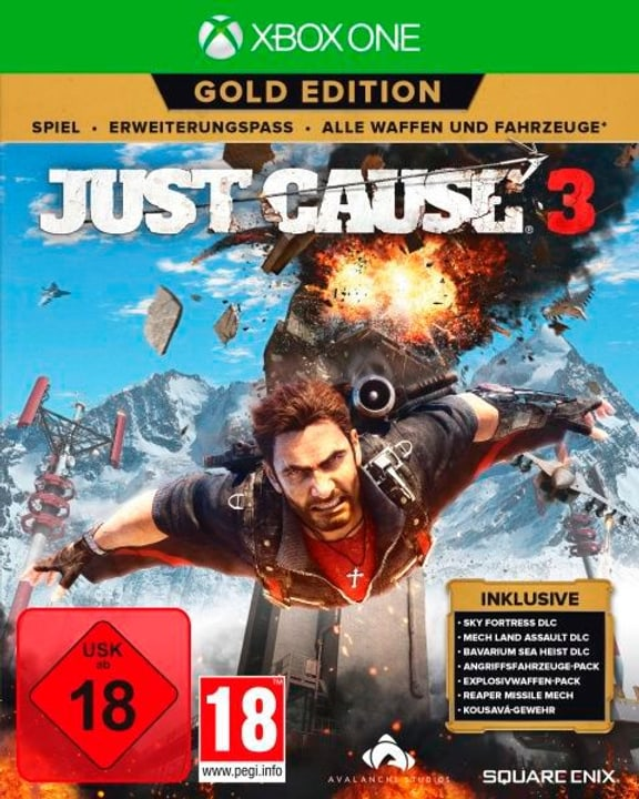 Xbox One - Just Cause 3 Gold Edition Box 785300129831 Photo no. 1