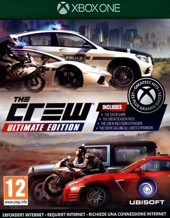 Xbox One - The Crew Ultimate Edition Physique (Box) 785300122186 Photo no. 1