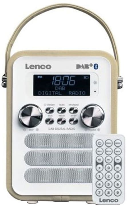 PDR-050 Taupe Radio DAB+ Lenco 785300148650 Photo no. 1