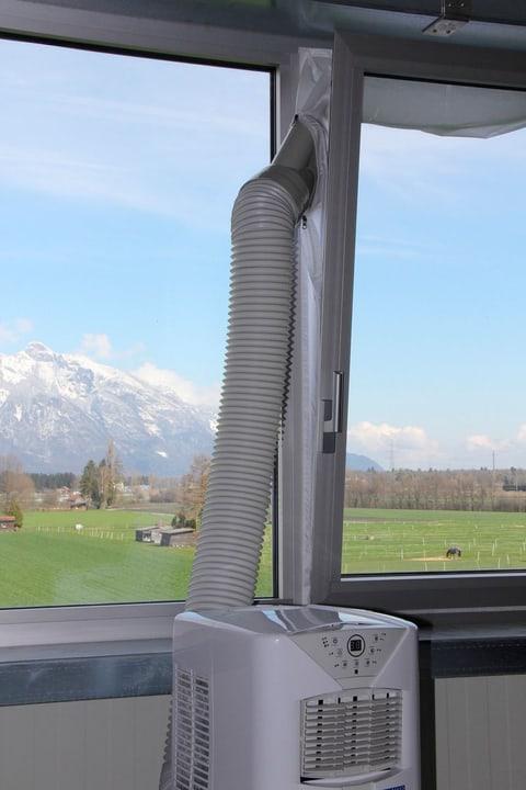 Joint de fenêtre pour climatiseurs mobile, blanc Joint de fenêtre pour climatiseurs Kibernetik 785300125327 N. figura 1