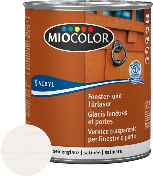 Glacis fenêtres et portes Miocolor 661123400000 Couleur Blanc chaux Contenu 750.0 ml Photo no. 1