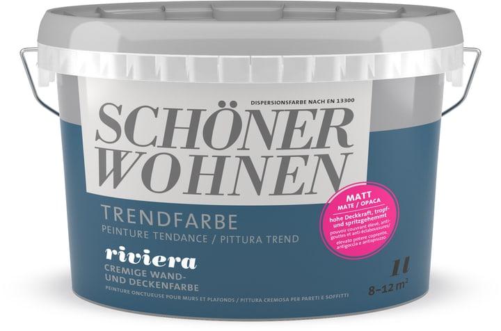 Pittura trend OPACA 1L Riviera Riviera 1 l Schöner Wohnen 660962600000 Colore Riviera Contenuto 1.0 l N. figura 1