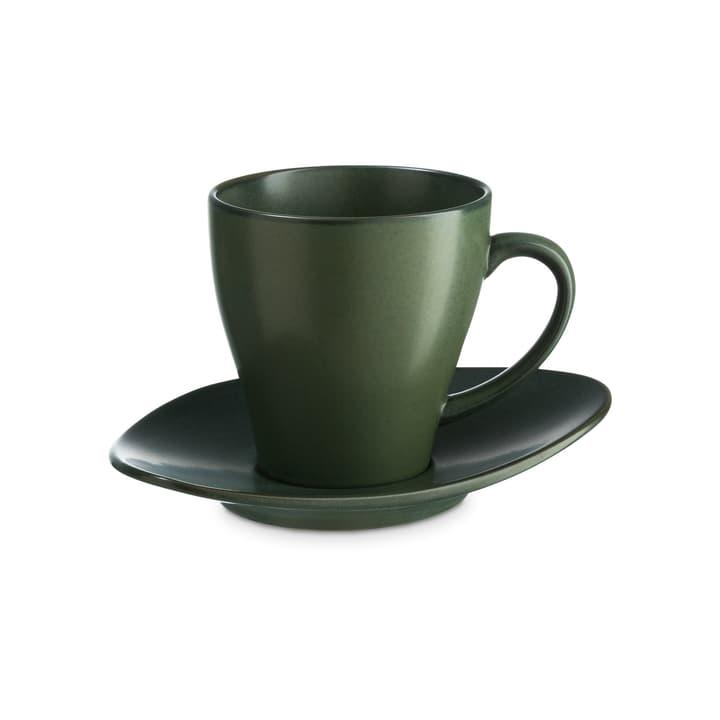 CUBA Tazza da caffé on piattino ASA 393219702060 Colore Verde Dimensioni L: 8.5 cm x P: 8.5 cm x A: 9.0 cm N. figura 1