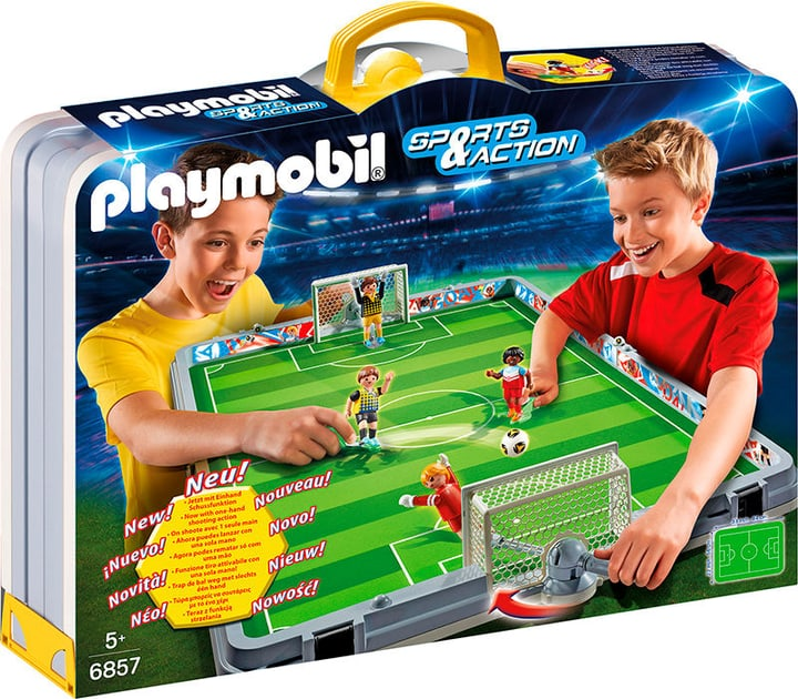 Playmobil Sports & Action Terrain de football transportable 6857 743326500000