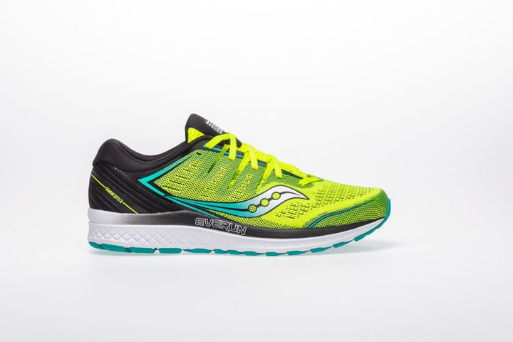 Guide ISO 2 Chaussures de course pour homme Saucony 492858747050 Couleur jaune Taille 47 Photo no. 1