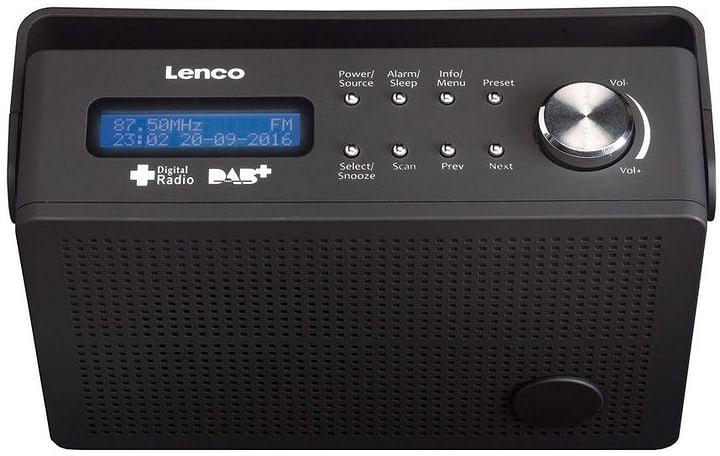 PDR-030 black Radio DAB+ Lenco 785300148639 Photo no. 1