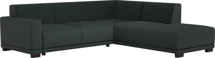 KRÜGER Canapé d'angle 405735700000 Couleur Noir Dimensions L: 258.0 cm x P: 219.0 cm x H: 77.0 cm Photo no. 1