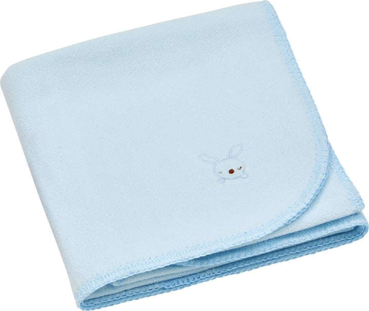 NIC Couverture 451647243041 Couleur Bleu clair Dimensions L: 75.0 cm x H: 100.0 cm Photo no. 1