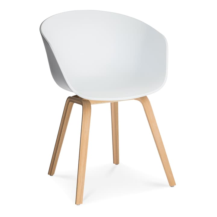 AAC 22 sedia HAY 366118800010 Dimensioni L: 52.0 cm x P: 59.0 cm x A: 79.0 cm Colore Bianco N. figura 1