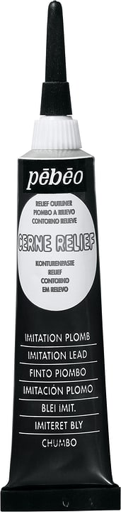 Pébéo Cerne Relief Pebeo 663505610800 Colore Argenteo N. figura 1