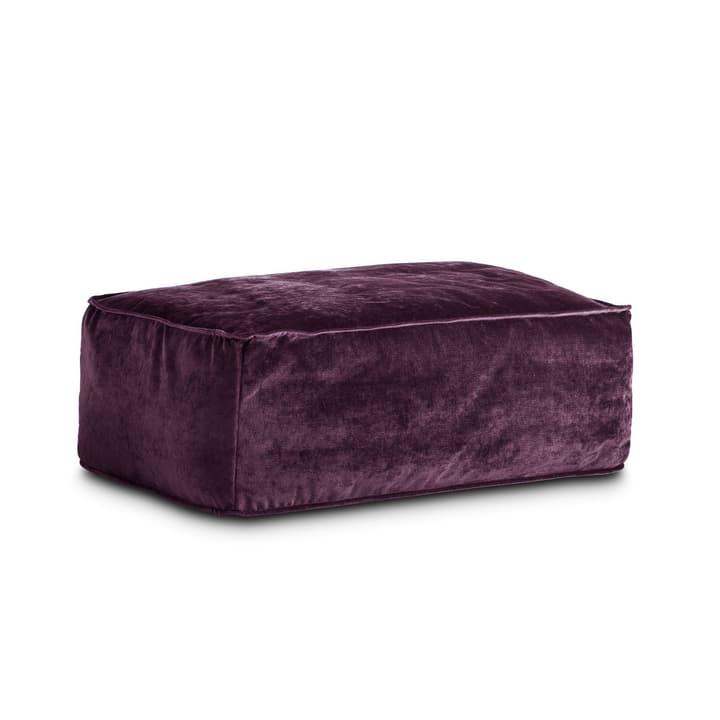VESTA pouf 360019820714 Dimensions L: 94.0 cm x P: 66.0 cm x H: 36.0 cm Couleur Violett Photo no. 1