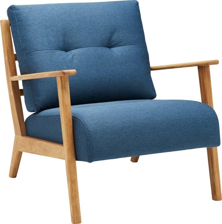 FAUST Sessel 402465200140 Farbe Blau Grösse B: 76.0 cm x T: 80.0 cm x H: 78.0 cm Bild Nr. 1